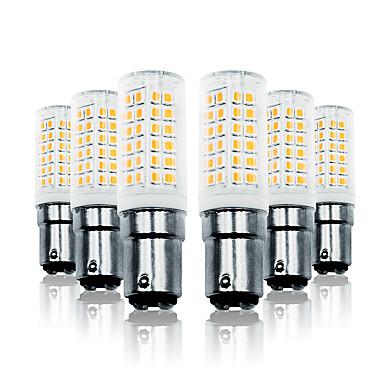 Loende 6 paket 7 w karartma led mısır ışıkları 110-130 v 200-240 v 800lm ba15d 78 leds led lamba smd2835 beyaz / sıcak beyaz