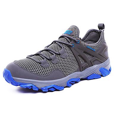 Erkek Ayakkabı Örümcek Ağı Yaz Atletik Ayakkabılar Yürüyüş Dış mekan için Siyah / Koyu Gri / Ordu Yeşili