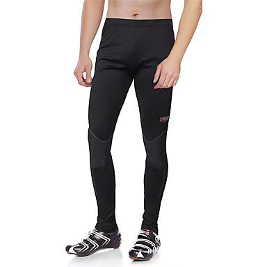21Grams Erkek Bisiklet Taytları Bisiklet Bisiklet Tayt Pantolonlar Alt Giyimler Nefes Alabilir 3D Pet Hızlı Kuruma Spor Dalları Geometrik Splandeks Siyah Dağ Bisikletçiliği Yol Bisikletçiliği Giyim