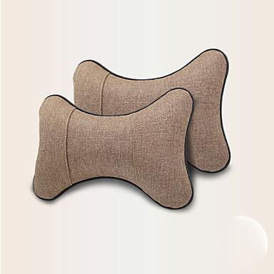 voordelige Auto-interieur accessoires-2 stks autostoel neksteun kussen ademend comfortabele auto hoofdsteun kussens