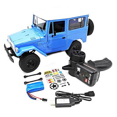 billige Fjernstyrte biler-Radiostyrt Bil c34 4 Kanaler Off Road Car 1:16 Børsteløs Elektrisk 10 km/h Ungdom