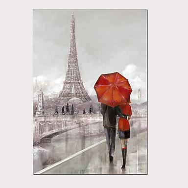 abordables Toiles-Imprimé Impression sur Toile - Abstrait Paysage Moderne Art Prints