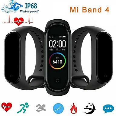 Недорогие Умные браслеты-Xiaomi Mi Band 4 Smart Watch BT 5.0 Поддержка фитнес-трекер уведомить совместимые телефоны Samsung и Huawei Android и iPhone (версия для Китая)