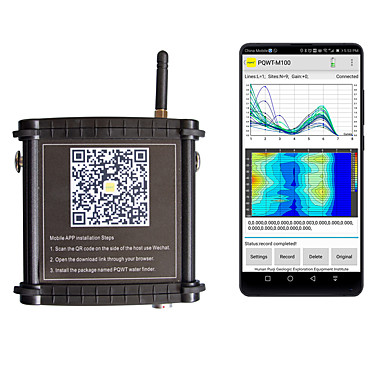 voordelige Test-, meet- & inspectieapparatuur-goedkoopste! beste kwaliteit ondergrondse waterdetector diepe ondergrondse waterzoeker 400m