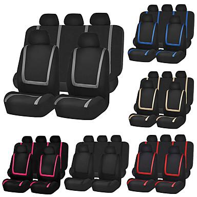 voordelige Auto-interieur accessoires-universele autostoelhoes polyester autostoelhoes stoelbeschermer interieuraccessoires-9st