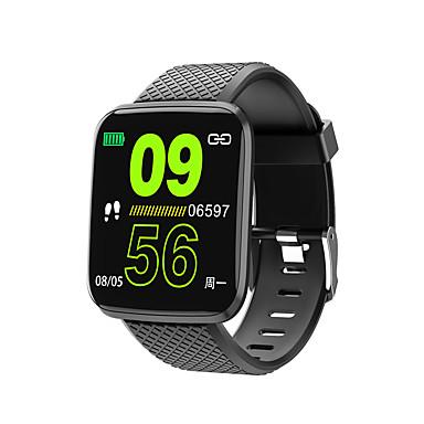 halpa Älykellot-kimlink 116plus miehet naiset smartwatch android ios bluetooth vedenpitävä kosketusnäyttö sykemittari verenpaineen mittaus urheilu ajastin askelmittari puhelun muistutus toiminnan seuranta nukkua