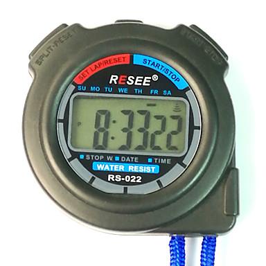 baratos Relógios Senhora-Casal Relógio Esportivo Japanês Digital Azul 30 m Cronógrafo Luminoso Novo Design Digital Ao ar Livre Nova chegada - Preto Dois anos Ciclo de Vida da Bateria