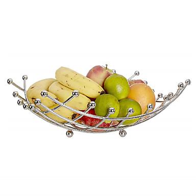 Meyve sepeti kase sebze raf paslanmaz çelik sepetler depolama standı tutucu elma turuncu metal sepet nordic depolama