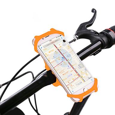 billige Sykkeltilbehør-Telefonstativ til sykkel 360° rotasjon til Vei Sykkel Fjellsykkel Foldesykkel Silikon iPhone X iPhone XS iPhone XR Sykling Svart Oransje Grønn