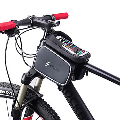 abordables Sacoches de Vélo-Sac de téléphone portable 6 pouce Cyclisme pour Cyclisme Autres similaires Taille Téléphones Noir Vélo de Route Cyclisme / Vélo Cyclotourisme