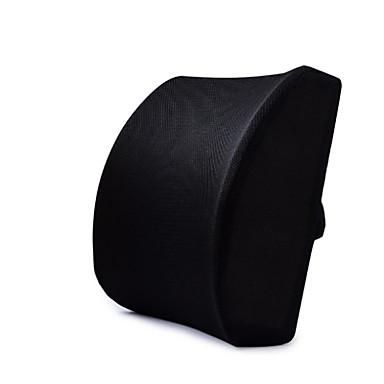 voordelige Auto-interieur accessoires-auto traagschuim taille ondersteuning zwart rugkussen 3D mesh hoes uitgebalanceerd en stevig ontworpen voor kantelbare stoelen