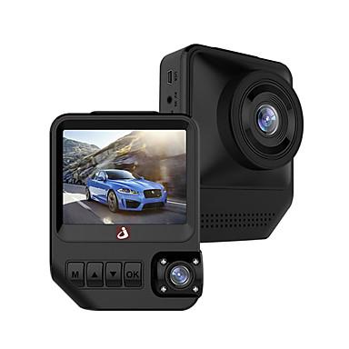 voordelige Automatisch Electronica-Junsun q2 1080p auto dvr 170 graden groothoek 2,33 inch dual lens ips dashcam met nachtzicht / g-sensor / parkeerbewaking / 4 infrarood leds / wdr / lusopname / bewegingsdetectie