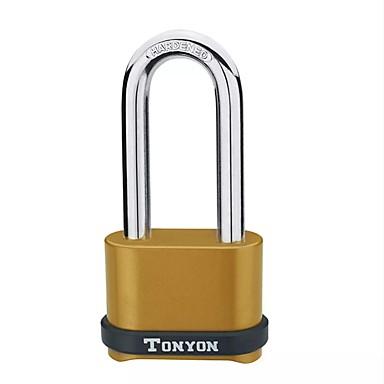 voordelige Automatisch Electronica-4 cijferig wachtwoord hangslot zinklegering veiligheid reisbagage deurslot waterdicht