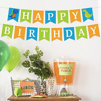 voordelige Feestbenodigdheden-Decoratie van tissuepapier Puur papier 1 set Verjaardagsfeest