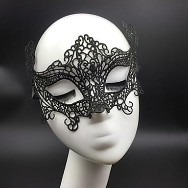 voordelige Maskers voor de feestdagen-Halloweenmaskers Sexy kanten masker Feest Nieuwigheid Kant Horrorthema Dames