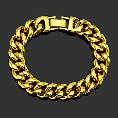 voordelige Herensieraden-Heren Armband XOXO Punk modieus Legering Armband sieraden Goud / Zilver Voor Bruiloft Dagelijks