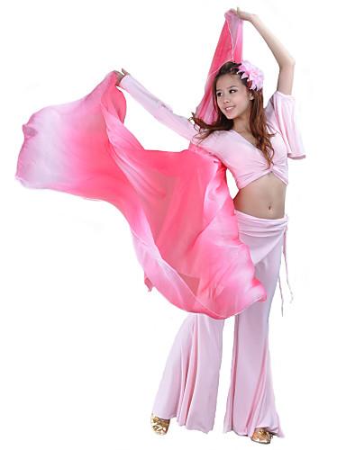 Danse tilbehør Scenerekvisitter Dame Ydeevne Silke