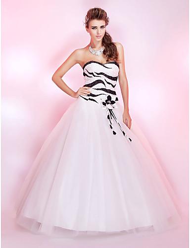 ZARIA - kjole til skolefest i sequine og tyl