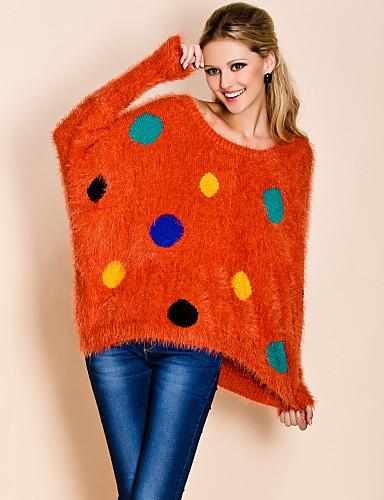 ts sød farverige prikker løs sweater