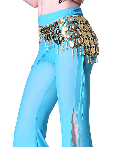 Dancewear Metal With Coins Belly Dance Performance Belt for Ladies