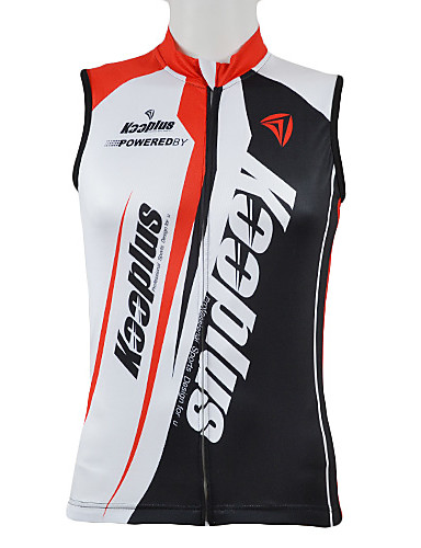 cheap Cycling Clothing-Kooplus Men's Sleeveless Cycling Jersey - Red Blue Bike Vest / Gilet Jersey Top Breathable Quick Dry Sports 100% Polyester Mountain Bike MTB Road Bike Cycling Clothing Apparel