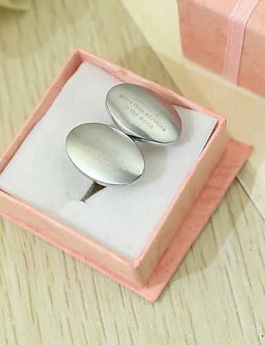 Çinko Alaşım Kol Düğmeleri ve Kravat Tokaları Damat Sağdıç Düğün Yıldönümü Doğumgünü iş