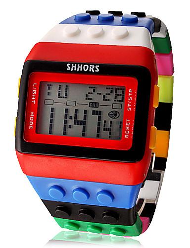 6e1a4363035 baratos Relógios da Moda-Mulheres senhoras Relogio digital Digital Alarme  Calendário Cronógrafo Digital Doce Fashion