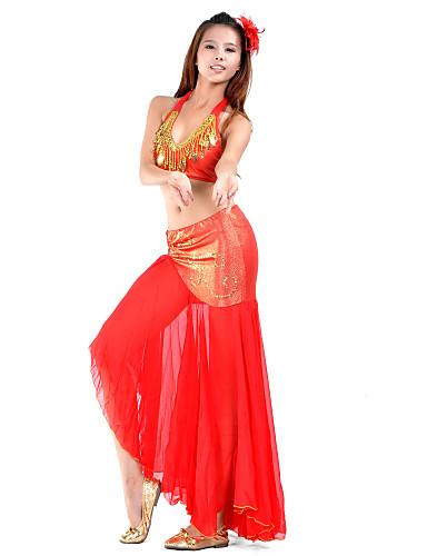 Dans din Buric Ținute Pentru femei Antrenament Șifon Mărgele