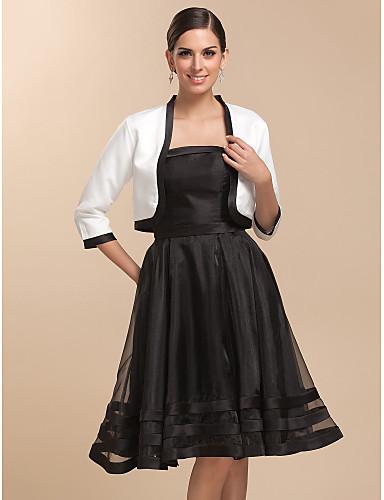 Satin Wedding Party Evening Casual Wedding  Wraps Coats / Jackets