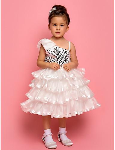 KATHERINE - kjole til blomsterpige i chiffon