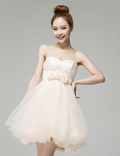 YHZ elegante l13791 del vestido sin tirantes de las mujeres