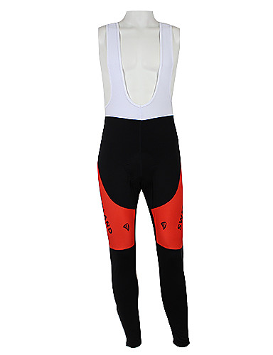 cheap Cycling Clothing-Malciklo Men's Women's Cycling Bib Tights - Red / black Switzerland Champion National Flag Bike Tights Bottoms Windproof Quick Dry Waterproof Zipper Sports Polyester Elastane Mountain Bike MTB Road