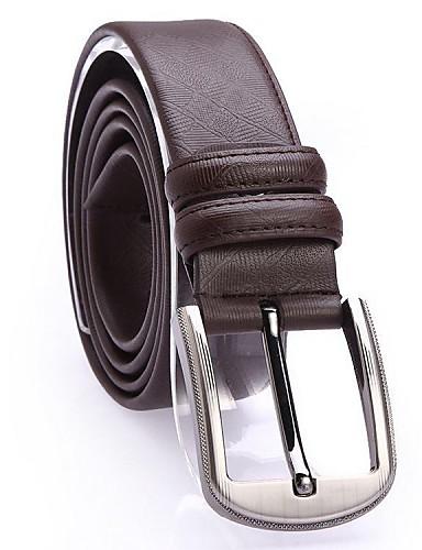 Belt bărbați Fashion noi linii de placi de ceramica de agrement din piele