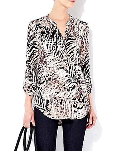 28b3d0779ac τίγρη μαλακό μόδας πουκάμισο εκτύπωση 1678476 2019 – $6.29