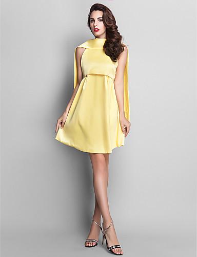 749f2ffcbf ts couture® koktél ruha - elegáns / vintage inspirálta molett / vékony egy  soros magas