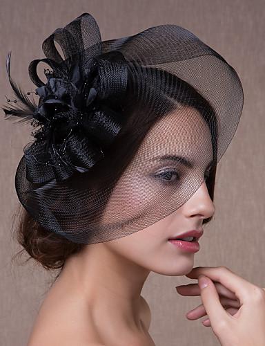 abordables Chapeau & coiffure-Cristal / Tissu / Organza Diadèmes / Fascinators / Fleurs avec 1 Mariage / Fête / Soirée Casque / Chapeaux