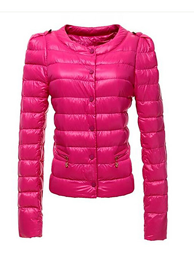 Women's Chic & Modern Padded - Solid Colored, Modern Style