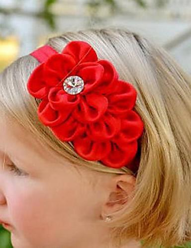 Κοριτσίστικα Αξεσουάρ Μαλλιών Κεφαλόδεσμοι Όλες οι εποχές Σιφόν - Μπεζ Κόκκινο