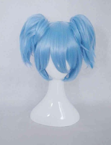 voordelige Cosplay Pruiken-Assassination Classroom Cosplay Cosplaypruiken Dames 14 inch(es) Hittebestendige vezel Blauw Anime