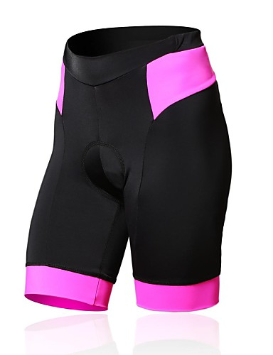 cheap Cycling Clothing-SPAKCT Women's Cycling Padded Shorts Bike Shorts Jersey Tights Breathable 3D Pad Sports Spandex Black / Blue / Pink Mountain Bike MTB Road Bike Cycling Clothing Apparel Advanced Semi-Form Fit Bike