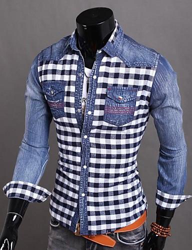 Herrn Andere - Retro Baumwolle Hemd