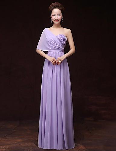 Kolacja oficjalna Sukienka Krój A Jedno ramiączko Sięgająca podłoża Satyna z Kieszonki