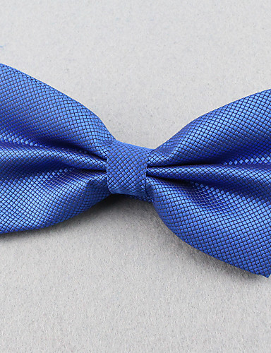 Unisex Party Work Casual Polyester Bow Tie Solid