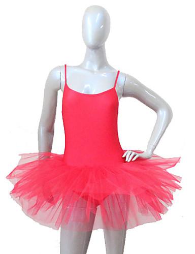 preiswerte Ballettbekleidung-Ballett Kleider Damen Leistung Nylon / Lycra Tüll Kleid / Aufführung