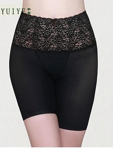 Naisten Nylon/Spandex Muotoilevat alushousut Pikkuhousut