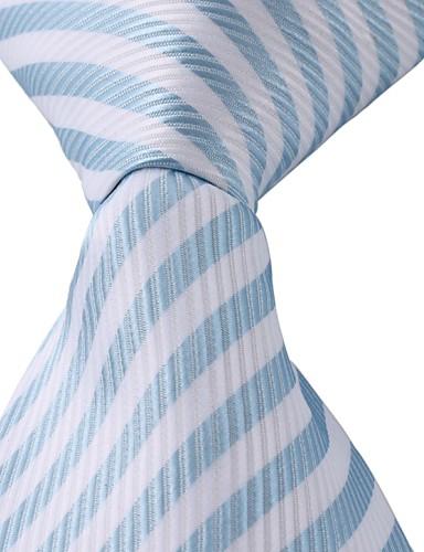 Unisex Vintage / Sievä / Juhla / Toimisto / Vapaa-aika Polyesteri Solmio-Raidoitettu