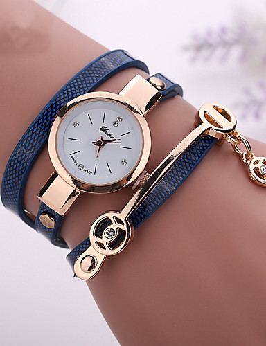 cheap Bracelet Watches-fashion new summer style leather casual bracelet watches wristwatch women dress watches