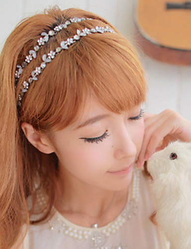Women's Vintage Cute Party Work Alloy Headband - Solid Colored