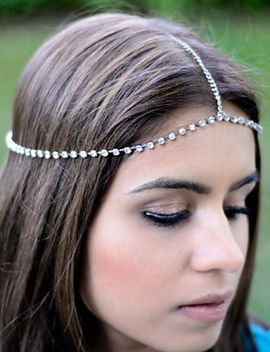 Kadın's Vintage Sevimli Parti İş alaşım Sa Zinciri Solid