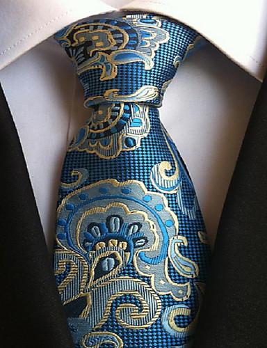 cheap Men's Ties & Bow Ties-Men's Party / Work / Basic Necktie - Geometric Print